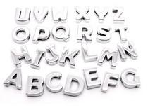 8mm smooth slide letters A-Z fit 8MM bracelets of women belt pet collars keychain