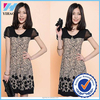 Dongguan Yihao Clothing Summer Splice Suit Pattern Slim Loose dresses for women,casual dress