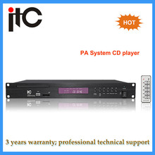 Professional High quality PA System Programmable CD/Mp3 Player amplifier