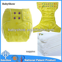 BabyShow 2014 high quality adult baby diaper stories 100% cotton cheap wholesale diapers