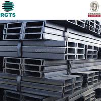 c channel steel Height 40~600mm steel beam