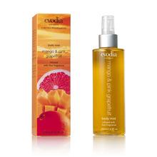 Evodia Mango & Pink Grapefruit Body Mist 200ml - Fresh & Vibrant (Australian Made) Fragrance