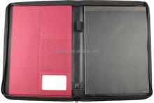 Fashion Design Nylon Zipper Portfolio Case