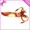 "10"" Long Lifelike Sea Animal Stuffed Plush Toy Cuttlefish, Cuttlefish Stuffed Toy, Plush Cuttlefish Toy"