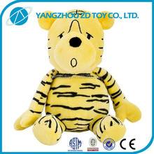 OEM new design plush polyester stuffed toys plush tiger and lion