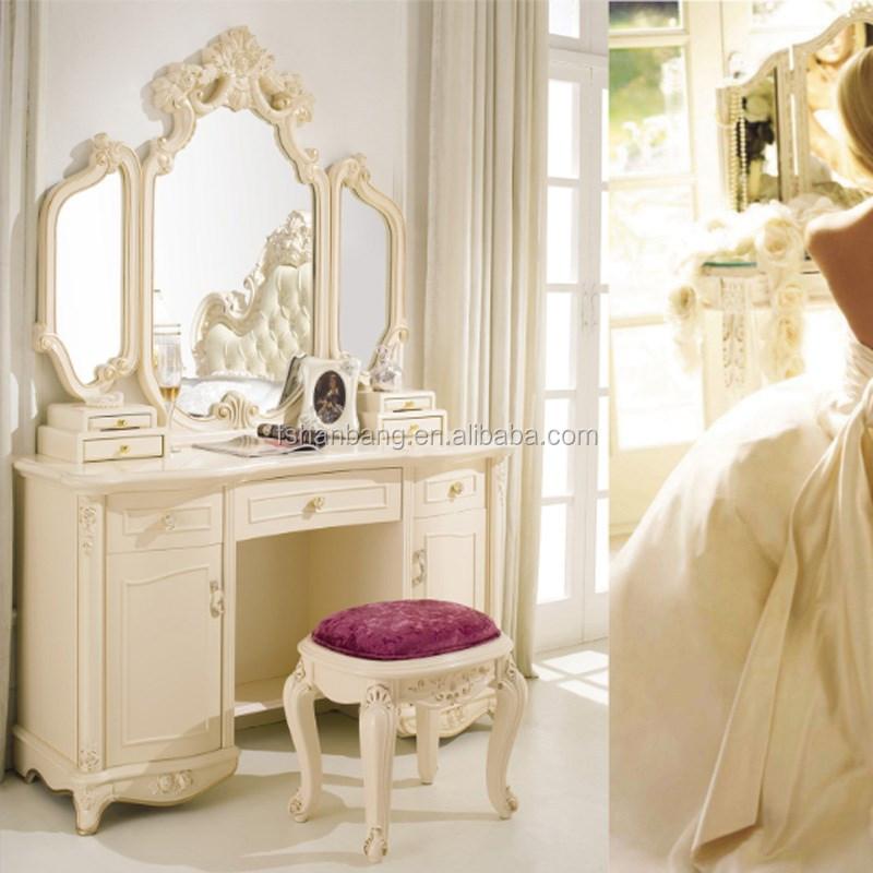 Europeo moderno stile barocco francese bianco avorio for Casa in stile europeo