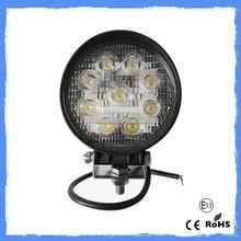 27W LED Work Light Bestsell Automobile Round 27w led work light