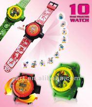 juguetones reloj proyectivalogotipo 10 con imágenes