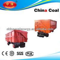 10ton heavy-duty Mining transportation car, side dumping wagon