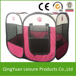 Lage Size/Medium Size Pet Playpen/Pet Huose/Dog Playpen with 8 panels/Folding dog playpen