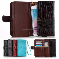 Factory supply Common Phone Case Wallet Pouch Universal smart phone leather case cover