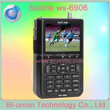 Good market Original Dvb-S Satlink Ws-6906 satellite finder ws 6909