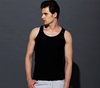 Cotton mens tank top cheap high quality slim fit vest
