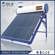 High level widely used pre-heating solar geyser