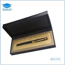 High-sensitive metal pen sets for men roller pen picked in a gift box