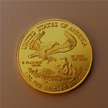 .999 gold clad ingot coin 1 oz,tungsten old coin price made in China