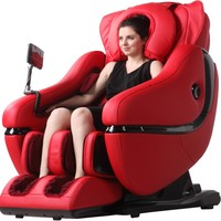 American Deluxe multifunction full body massage chair with zero gravity foot roller and body scan features