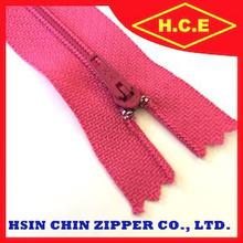 China zipper make 3 5 7 8 short chain finished 30 cm nylon zipper for bag accessory