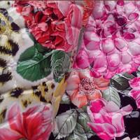 2015 PU Patent Leather PVC For Handbags Flower Design