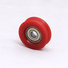 Plastic pulley small plastic roller plastic wheel with bearing