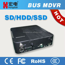 4CH D1 Dual SD Card or 1T HDD 3G WIFI & GPS Mobile DVR