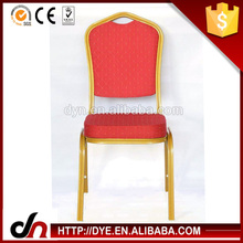 Square steel tube aluminum banquet chair,wedding banquet chair,aluminum tube banquet chair