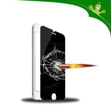 2015 hot sale privacy 9h explosion-proof tempered glass screen protector for iphone 6/6 plus
