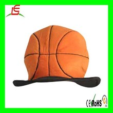 LEA0027 Basketball like cheap plush basketball hat