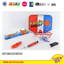 Newest chenghai toys basketball hoop with ball pump
