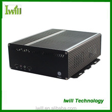 Iwill X8 High quality all aluminum mini itx industrial computer case with PCI slot
