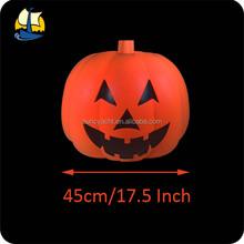 fake halloween large plastic pumpkin