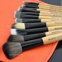 Beauties Factory 12pcs Tomato Makeup Brushes Set