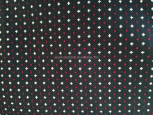 Cross Pattern Jacquard Yarn Dyed Woven Waffle Weave Cotton Fabric