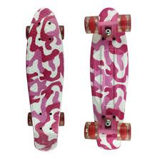 2015 New 22 Inch Penny Style Skate board Mini Retro Cruiser Pastel Nickel Patinete Skateboard Complete