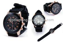Pomotion word cup 2014 silicone custom geneva watch