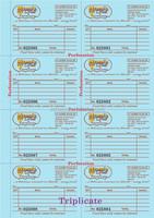 NCR paper printing machine/commercial invoice/recipt printing machine