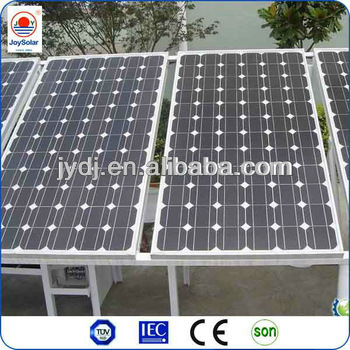 High power 300 watt solar panel for solar power system