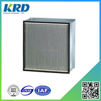 High Flow Rate Hepa Air Filter H12 for Cleanroom
