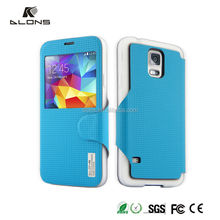 2015 DLONS New Arrival TPU Flip Cover Case For Samsung Galaxy S5 SV i9600 i9500x G900