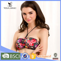 Top Sale Beautiful Female Spandex Beautiful tank tops with built in bra