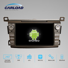 Pure Android 4.4 Rockchip A9 dual-core car multimedia system with GPS/DVD/Radio/MP4 for Toyota RAV4 2013