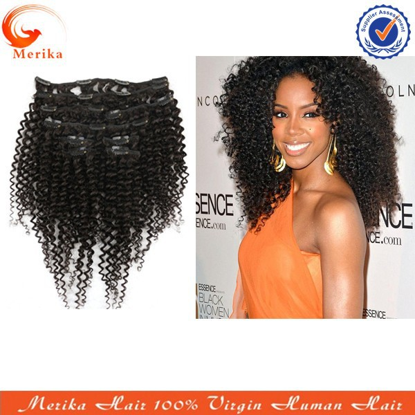 Curly Hair Extensions Clip In Cheap 104