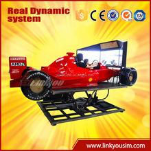 2015 F1 racing car simulator, electric rc drift car race simulator, electric car