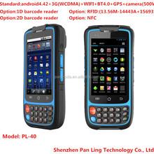 PL40 BD078 mobile handset terminal tablet pc ,barcode rfid reader and gps