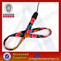 heated transfer lanyard /sublimation lanyard for sale