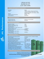 LiFePO4 Battery 10Ah/3.2V/32Wh