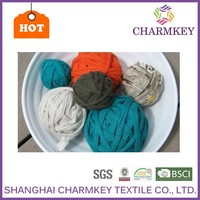 2015 polyester yarn yarn for scouring pad for hand knitting carpet