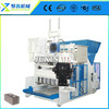 QMY12-15 fully automatic concrete block production line/mobile brick machine concrete brick machine