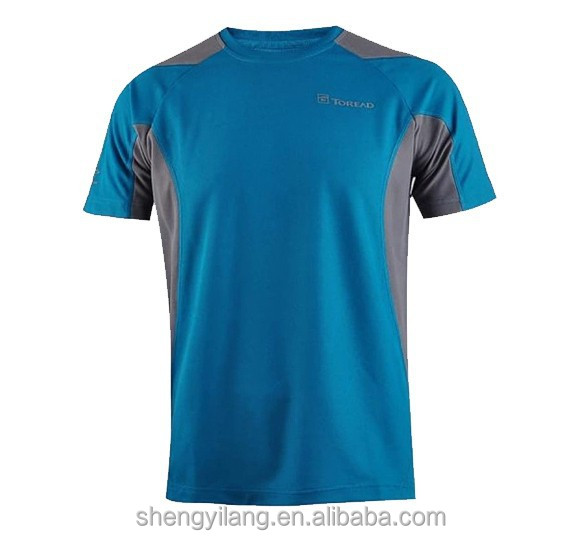 Custom made sport dry fit running t shirt in guangzhou for Custom dry fit shirts
