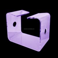 High quality clear acrylic nuru massage chair in hotel
